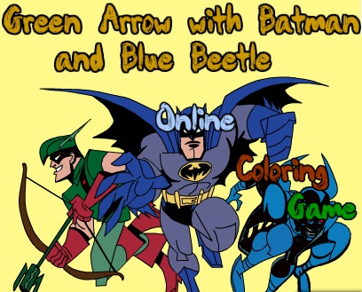 Batman and the Blue Beetle Online Coloring