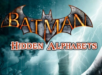 Batman - Hidden Alphabets