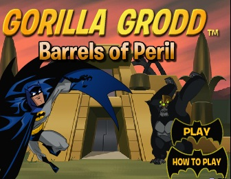 Gorilla Grodd - Barrels of Peril