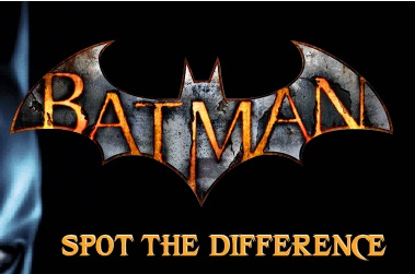 Batman - Spot The Difference 2