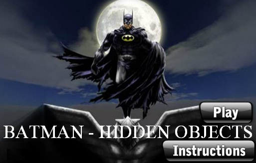 Batman - Hidden Objects