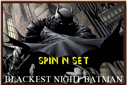 Spin n Set Blackest Night Batman