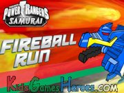 Power Rangers Samurai - Fireball Run