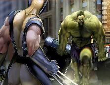 Sort My Tiles Wolverine Vs Hulk