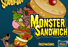 Scoobydoo Monster Sandwich