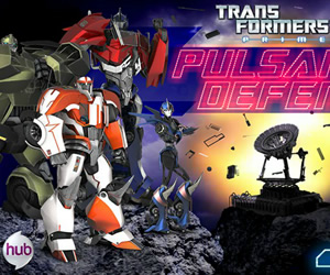 Transformers Prime Pulsar Defense Game