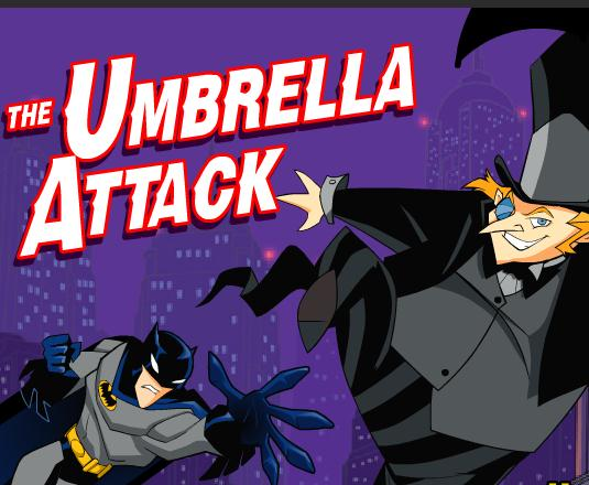 Batman The Umbrella Attack