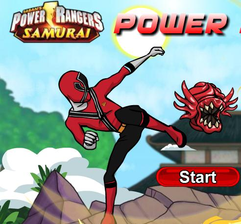 Power Rangers Shoot Game