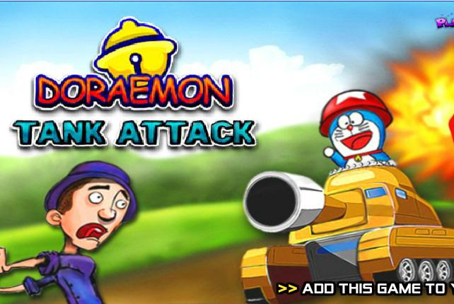 Doraemon Tank Attack Game