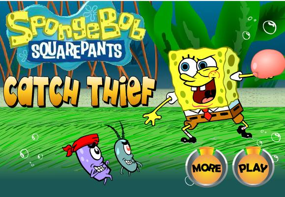 Spongebob Catch Thief