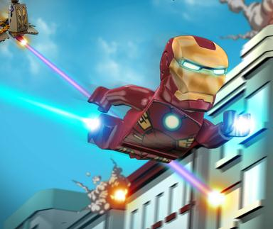 Iron Man Lego Adventures