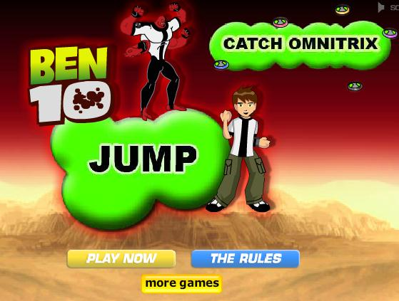 Ben10 Jump catch omnitrix