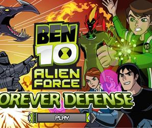 Ben10 Forever Defense Game