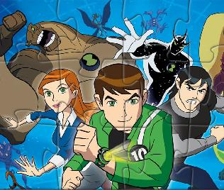 Ben 10 Puzzle 2 Modes Game