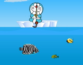 Doraemon Fishing Game Game