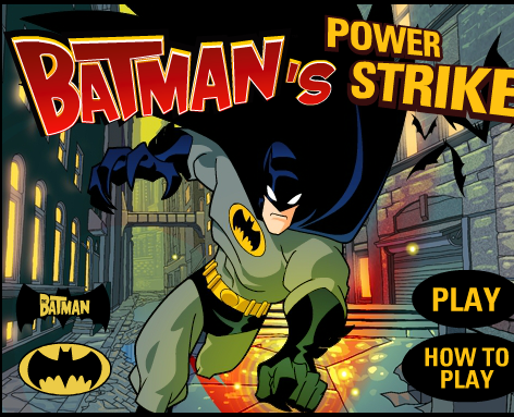 Batmans Power Strike Game