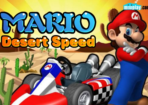 Mario Desert Speed