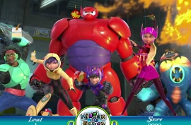Big Hero 6 Hidden Objects Game