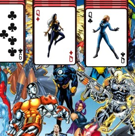 Marvel Solitaire  Game
