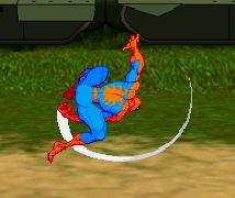 Spiderman Hero Training Game