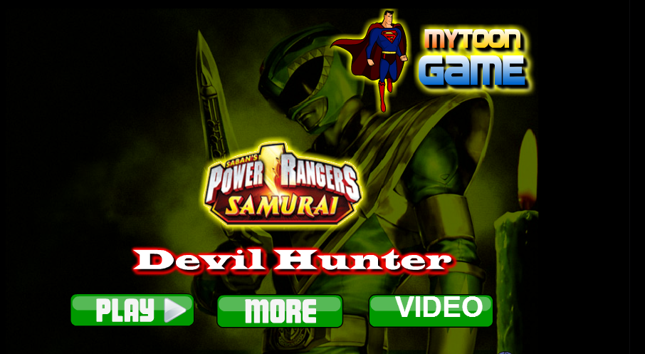 Power Rangers Devil Hunter Game