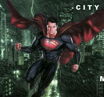 Man Of Steel City Flight
