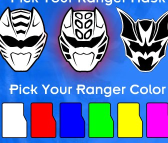 Power Rangers Mask Lab Game