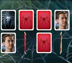 Spider Man 3 Memory Match Game