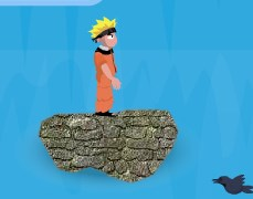 Naruto Waterfall Jump Game