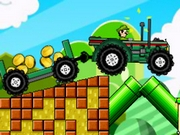 Mario Tractor  2 Player Game