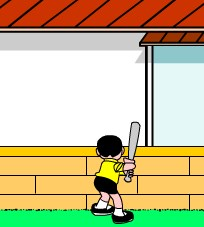 Doraemon Nobita baseball Game