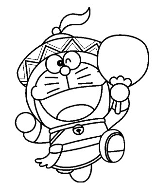 Doraemon Coloring Book Game