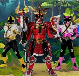 Power Rangers Rescue 2 Game