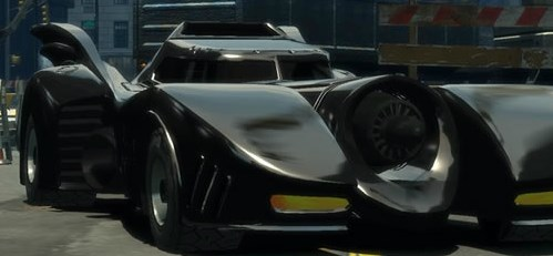 Batman Car Puzzle