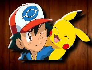 Ash and Pikachu Moment