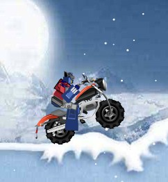 Transformers Prime Ice Race Game