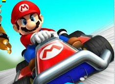 Mario Speed Racer Game