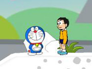 Doraemon Vs Nobita Snow Adventure Game