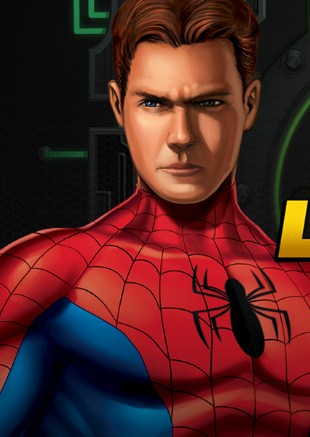 Spiderman Laboratory Lockdown Game